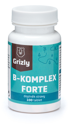 GRIZLY B-komplex Forte 100 tablet