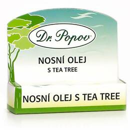 Dr. Popov Nosní olej s Tea Tree roll-on 6 ml