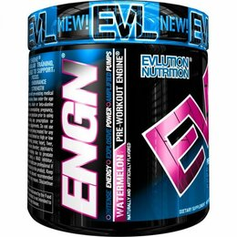 EVLution Nutrition Pre workout engine 252g  - fruit punch expirace