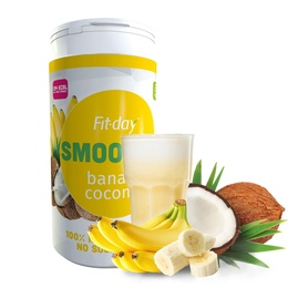 Fit-day Smoothie Banán/kokos 600 g