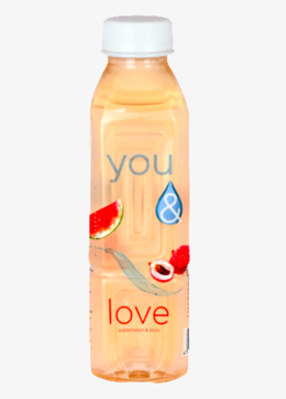 You& Water watermelon litchi 500 ml