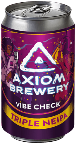 Axiom Brewery Vibe Check 24°alk. 10 %; 330 ml Triple neipa