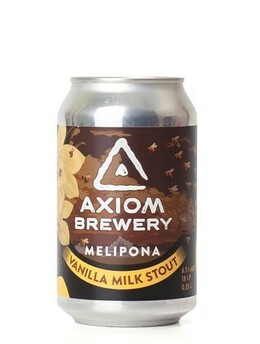 Axiom Brewery Melipona Junior 14°alk. 4,9 %; 330 ml Mléčný stout s vanilkou