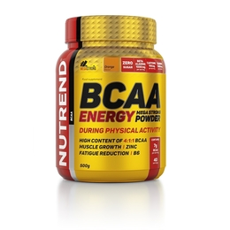 Nutrend BCAA Energy mega strong powder 500 g