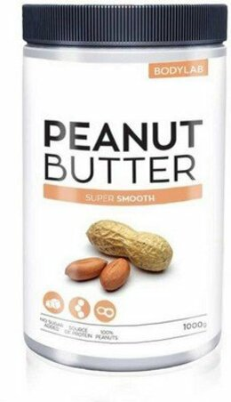 Bodylab Peanut Butter - super smooth 1000 g