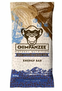 Chimpanzee ENERGY BAR Dark Chocolate & Sea Salt 55 g