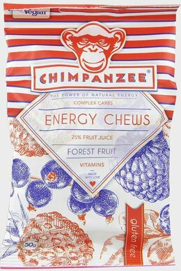 Chimpanzee ENERGY CHEWS Forest Fruit 30 g