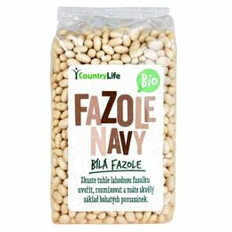 Country Life Fazole navy 500 g BIO