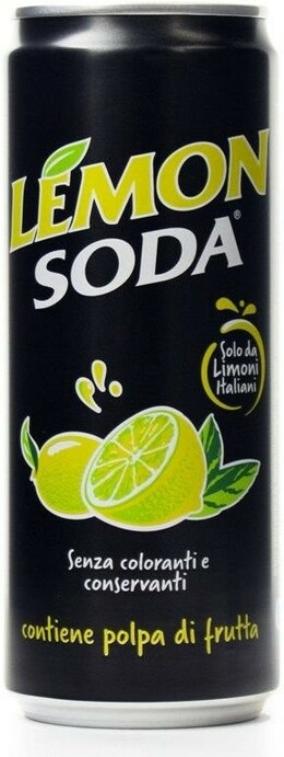 Crodo Lemon Soda 330 ml