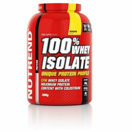 Nutrend 100 % whey isolate 1800 g