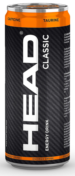 Head Energy Drink classic 500 ml