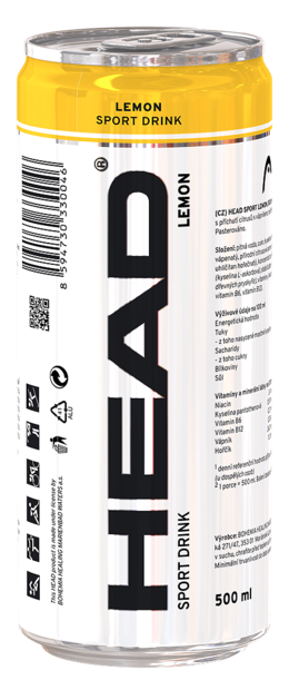Head Sport drink lemon 500 ml