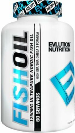 EVLution Nutrition Fish Oil 60 kapslí 60 dávek