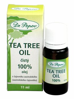 Dr. Popov Tea tree oil 100% 11 ml
