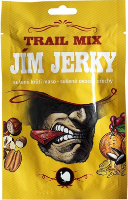 Jim Jerky Trail mix krůtí 35 g