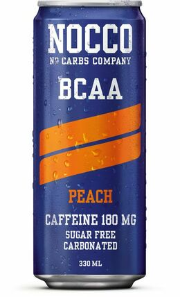 NOCCO BCAA peach 330 ml