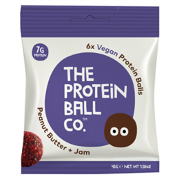 Protein The protein ball co peanut butter + jam 45 g