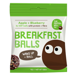 The Protein ball co Breakfast jablko + borůvky 45 g