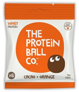 Protein The protein ball co kakao + pomeranč 45 g