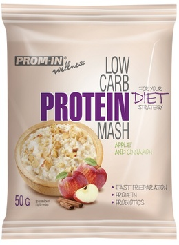 Prom-in New Low Carb Protein Mash jablko/skořice 50 g