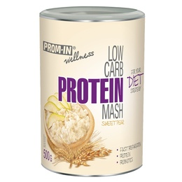 Prom-in New Low Carb Protein Mash 500 g hruška