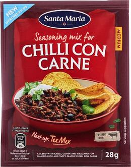 Santa Maria Chili ConCarne Seasoning Mix 28 g