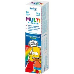 The Simpsons Multivitamín 20 tablet