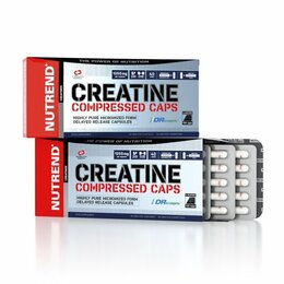 Nutrend Creatine Compressed 120 kapslí
