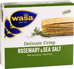 Wasa Delicate rozmarýn 190 g  - expirace